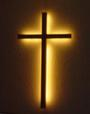 lighted cross